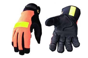 Youngstown Glove Company Safety Orange Waterproof Winter Gloves, S 03-3610-50-S