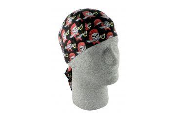 Zan Headgear Flydanna Gray Pirate Z584