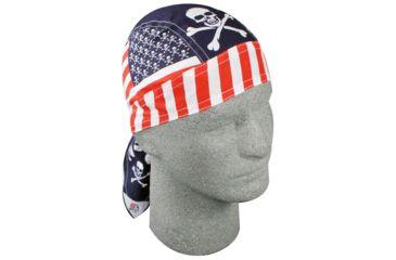 Zan Headgear Flydanna Patriotic Skull Z537