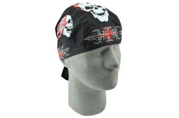 Zan Headgear Flydanna Tribal Iron Cross Z644