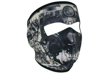 19-Zan Headgear Full Mask, Neoprene