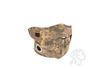 Zan Headgear Half Mask, Neoprene, U.S. Army, Combat Uniform WNFM700H