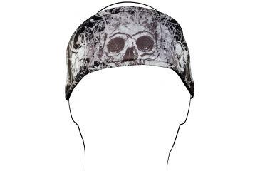 Zan Headgear Headband, DaVinci Skull HB003