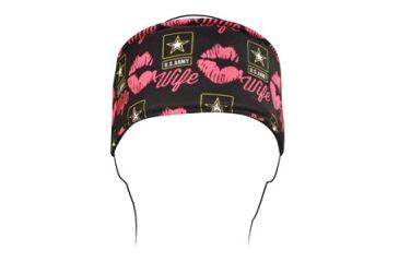 Zan Headgear Headband, Polyester, U.S. Army, Wife Kisses HB706