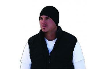 Zan Headgear Helmet Liner Black Microfleece & Neoprene WHLF114N