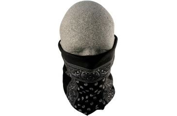 Zan Headgear Motley Tube Black Paisley T101