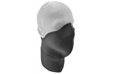 Zan Headgear Neo-X Face Mask w/Neck Shield Solid Black WNXN114
