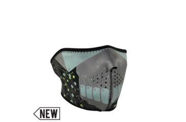 Zan Headgear Neoprene 1/2 Mask, Robot WNFM165H