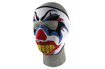 Zan Headgear Neoprene Face Mask Clown WNFM005