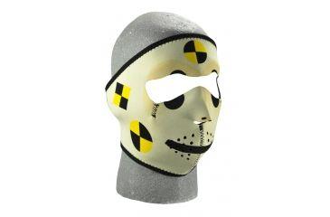 Zan Headgear Neoprene Face Mask Crash Test Dummy WNFM060