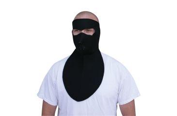Zan Headgear Neoprene Face Mask Neoprene Neck Shield Black WNFM114N