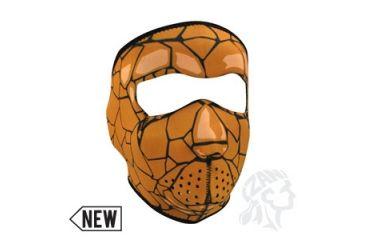 Zan Headgear Neoprene Face Mask, Rock Monster WNFM079