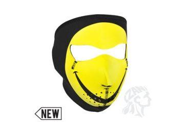 Zan Headgear Neoprene Face Mask, Smiley Face WNFM071