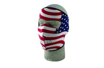Zan Headgear Neoprene Face Mask Stars & Stripes USA Flag WNFM003