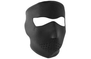 Zan Headgear Neoprene Face Masks - Small Solid Black WNFMS114