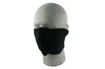 Zan Headgear Neoprene Half Face Mask Black WNFM114H