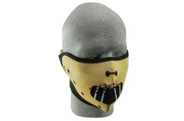 Zan Headgear Neoprene Half Face Mask Hannibal WNFM038H