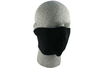 Zan Headgear Neoprene Half Masks - Oversized, Black WNFMO114H