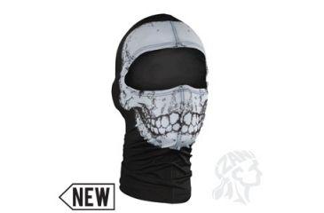 Zan Headgear Nylon Balaclava, Skull WBN002