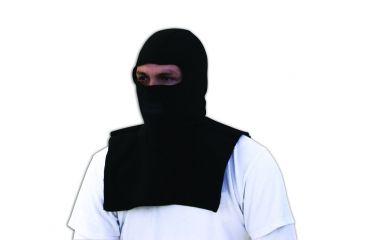 Zan Headgear Balaclava Black Microfleece w/ Dickie WBF114D
