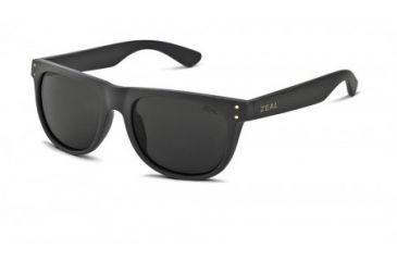 Zeal Optics Ace Sunglasses, Black Gold Frame and Polarized Dark Grey Lens 10721