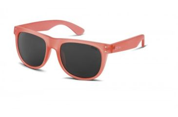 Zeal Optics Ace Sunglasses, Crushed Coral Frame and Polarized Dark Grey Lens 10724