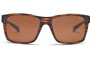 Zeal Optics Brewer Mens Sunglasses, Matte Wood Grain Frame and Polarized Copper Lens 10415