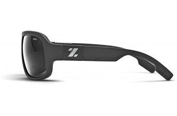 Zeal Optics Brody Mens Sunglasses, Matte Black Frame and Polarized Dark Grey Lens 10400