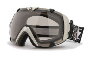 Zeal Optics Classic Eclipse Ski Goggles, Carbon Matte Gold Frame and Polarized Automatic Optimum Lens ES2SPPG