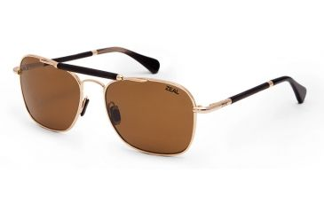 3ea395f679 Zeal Optics Draper Sunglasses - Polished Gold Frame