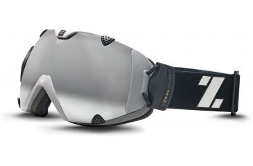 Zeal Optics Eclipse Ski Goggles, Digital Black Frame and Polarized Automatic Optimum Lens 10290