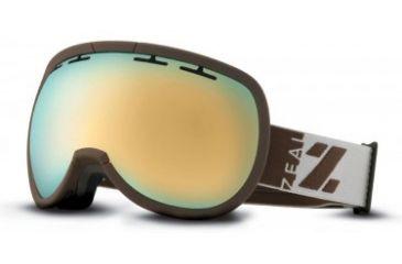 Zeal Optics Level Goggles, Peruvian Gold, Alchemy Mirror Lens 10462