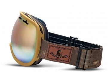 Zeal Optics Level Ski Goggles, MADE Wood Frame and Alchemy Mirror Optimum Lens 10269