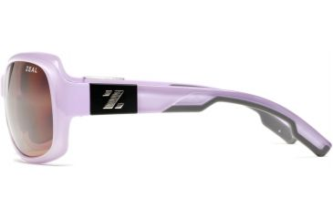 Zeal Optics Penny Lane Womens Sunglasses, Rose Gloss Frame and Polarized Copper Lens 10013