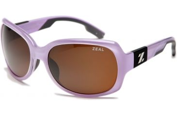 Zeal Optics Penny Lane Womens Sunglasses, Rose Gloss Frame and Polarized Copper Lens 10013