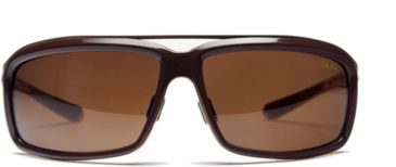 Zeal Optics Re-Entry Sunglasses, Chocolate Gloss Frame and Polarized Copper Lens 10074