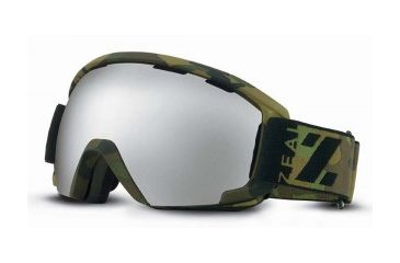 Zeal Optics Slate Goggles, Geronimo, Metal Mirror Lens 10465
