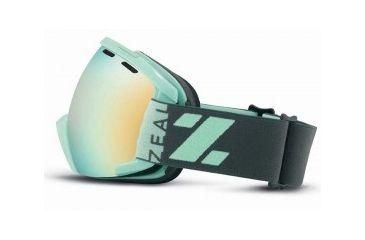 Zeal Optics Slate Goggles, Wrigley, Alchemy Mirror Lens 10466