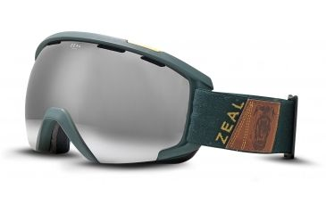 Zeal Optics Slate Ski Goggles, Foundry Fern Frame and Metal Mirror Optimum Lens 10260