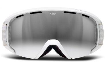Zeal Optics Slate Ski Goggles, Upland Wheat Frame and Metal Mirror Optimum Lens 10264