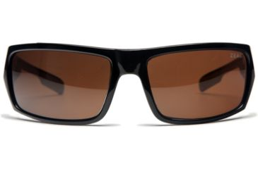 Zeal Optics Snapshot Sunglasses, Black Gloss Frame and Non-Polarized Copper Lens 10018