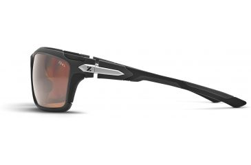Zeal Optics Takeoff Sunglasses, Matte Grey Frame and Polarized Copper Lens 10045