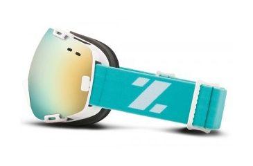 Zeal Optics Voyager Goggles, Blue Crush, Alchemy Mirror Lens 10476
