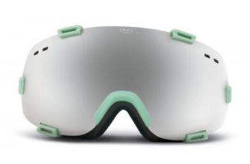 Zeal Optics Voyager Goggles, Green Tea, Metal Mirror Lens 10475