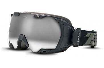 Zeal Optics Z3 Ready Ski Goggles, Matte Black Frame and Polarized Automatic Optimum Lens 10299