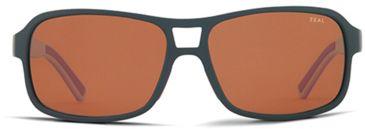 Zeal Optics Zeal Optics Tofino Sunglasses Cafe Black/Red Frame, Copper Lenses, Polarized 10659