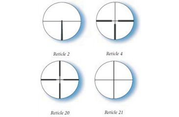 Available Reticles for Zeiss 2.5-8x32 Conquest Rifle Scope