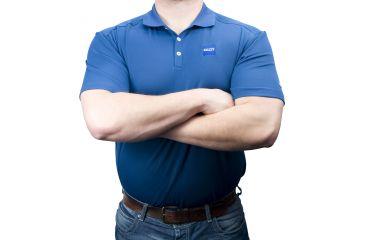 Zeiss Gear Polo Shirt, Blue, Large