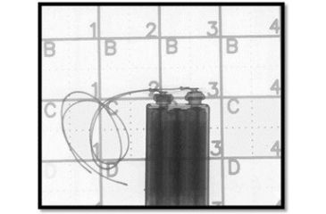 "Zero Point Zero Point X-Ray Grid Set: (4) 4"" x 4"" Grids, (2) Sets of Numbers ZPX-RAY1"