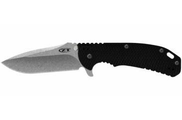 Zero Tolerance Rick Hinderer Folding Knife, 3.75in, Black 0560